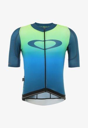 AERO - T-shirt print - jade iridium