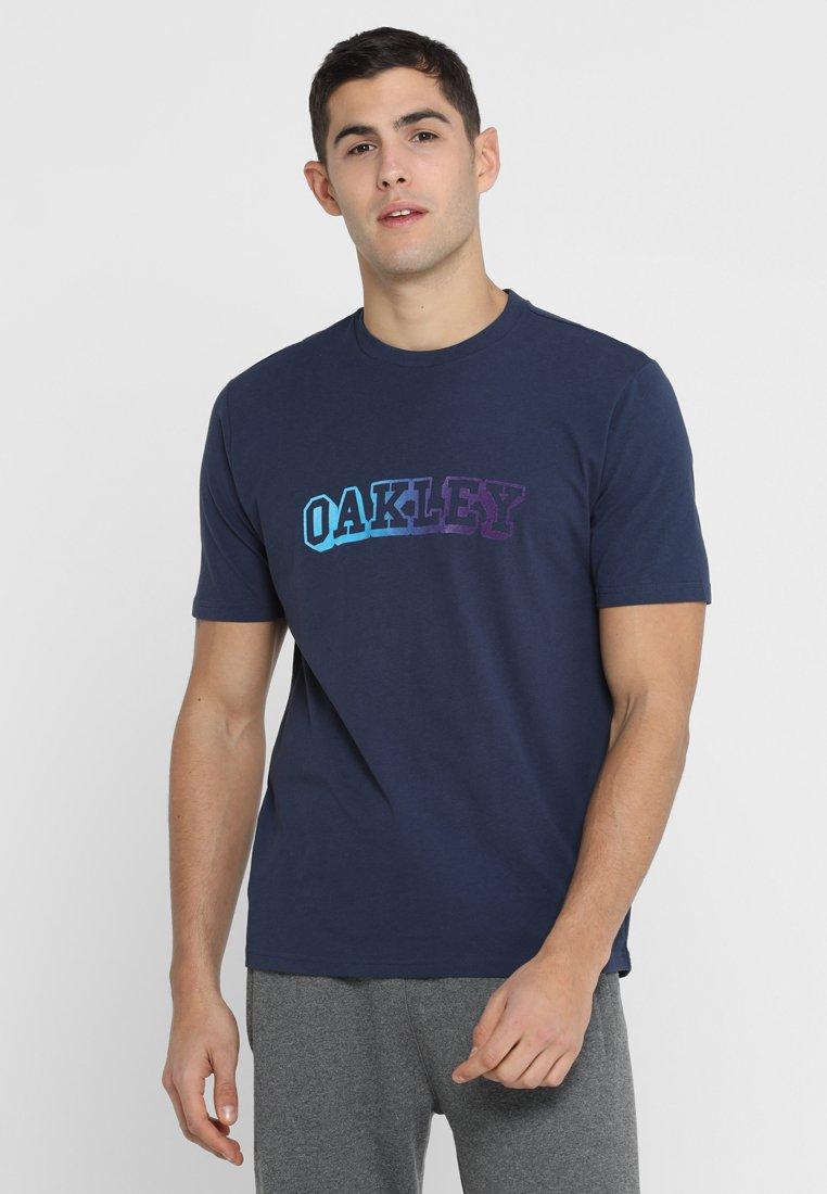 Oakley - LOGO TEE - T-Shirt print - foggy blue