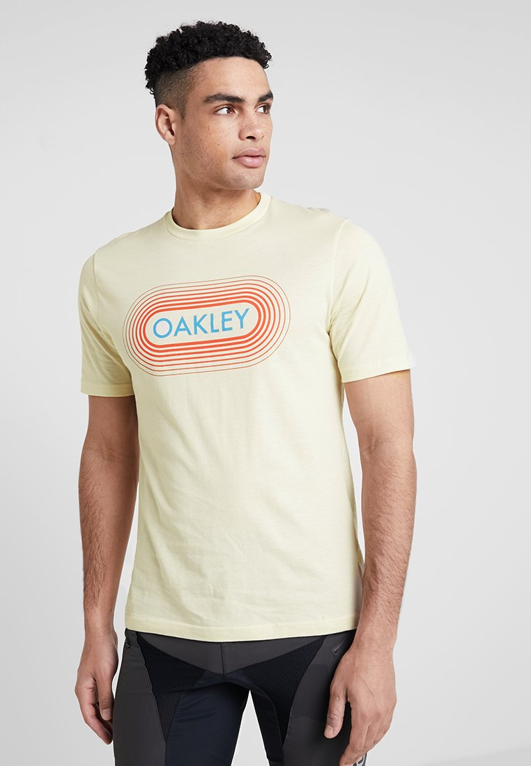 Oakley - RETRO STATION TEE - Camiseta estampada - ivory
