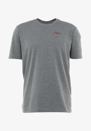 AUTHORIZED TEE - Printtipaita - athletic heather grey