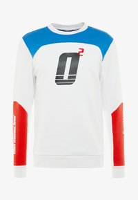 Oakley - RACING TEAM CREWNECK - Sweatshirt - white