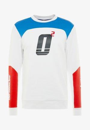 RACING TEAM CREWNECK - Sweatshirt - white