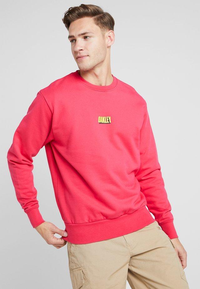 TEAM CREWNECK - Sweatshirts - virtual pink