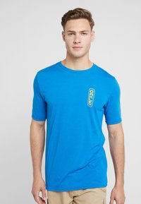 Oakley - SIGN LOGO TEE - T-Shirt print - matrix blue - 0