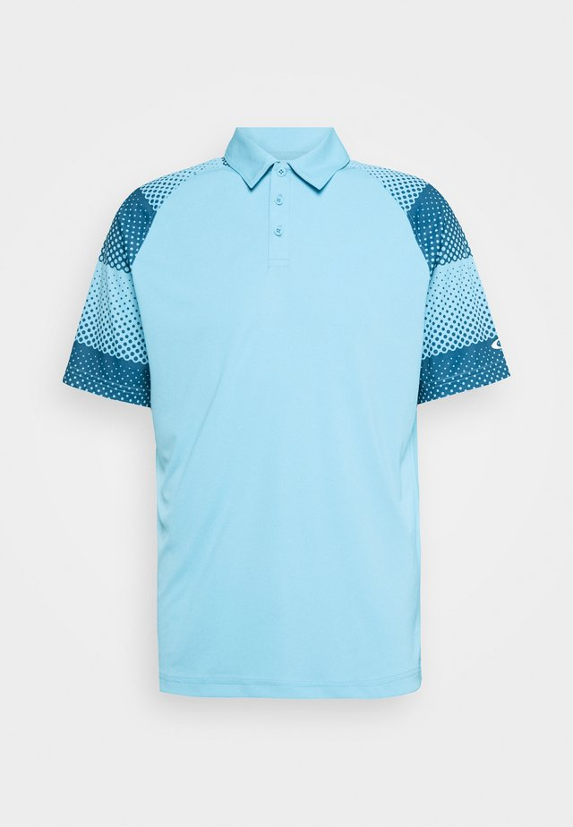 DOT SLEEVES - Poloshirt - aviator blue