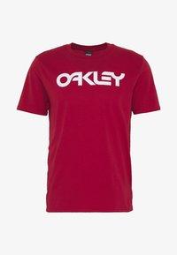 Oakley - MARK II TEE - T-Shirt print - red - 4