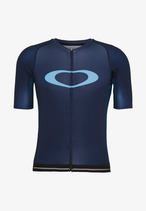ICON JERSEY 2.0 - T-shirt z nadrukiem - black/dark blue