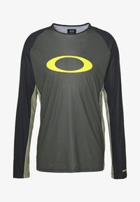 Oakley - TECH TEE - Long sleeved top - dark green - 4