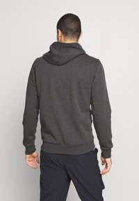 Oakley - HOODIE NEW BARK - Kapuzenpullover - mottled dark grey - 2