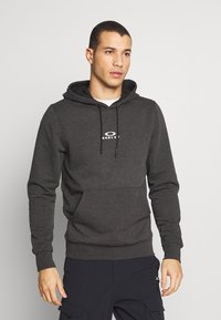 Oakley - HOODIE NEW BARK - Kapuzenpullover - mottled dark grey - 0