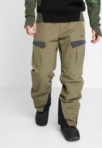Oakley - REGULATOR INSULA PANT - Snow pants - dark brush - 0