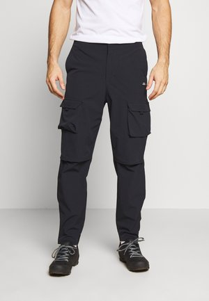 COMMUTER TECH PANT - Stoffhose - black