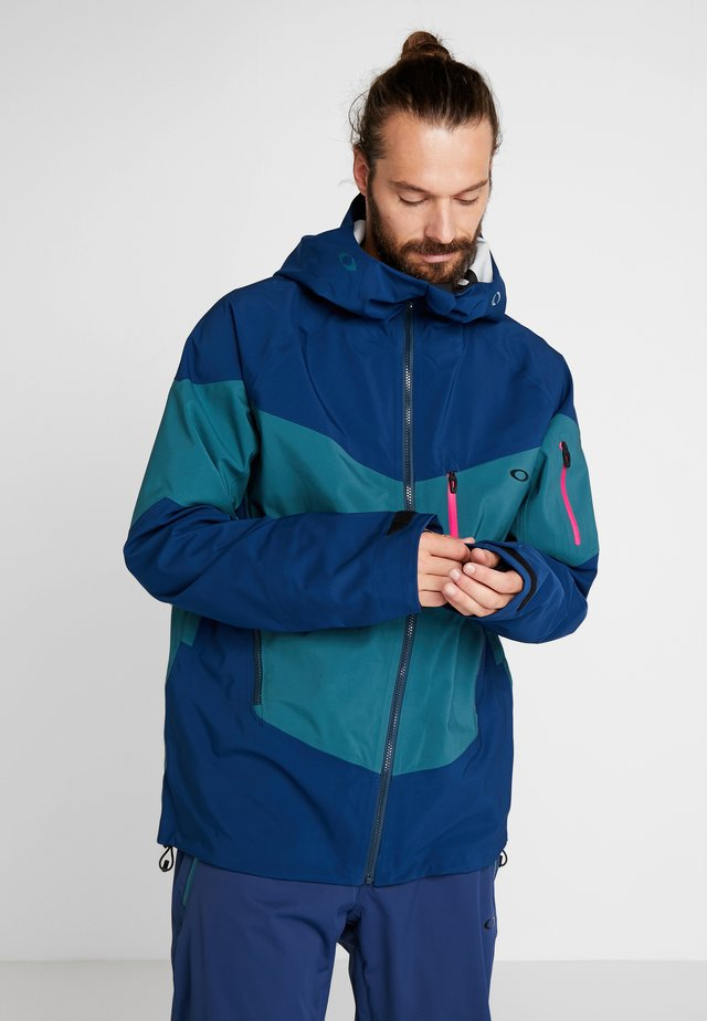 TIMBER SHELL JACKET - Snowboardjakke - poseidon