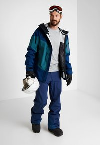 Oakley - TIMBER SHELL JACKET - Snowboardová bunda - poseidon - 1