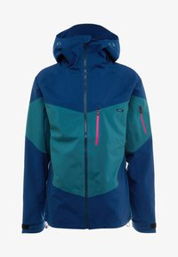 Oakley - TIMBER SHELL JACKET - Laskettelutakki - poseidon - 7