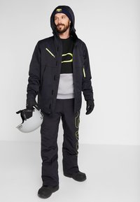 Oakley - CRESCENT JACKET - Snowboardjas - blackout - 1