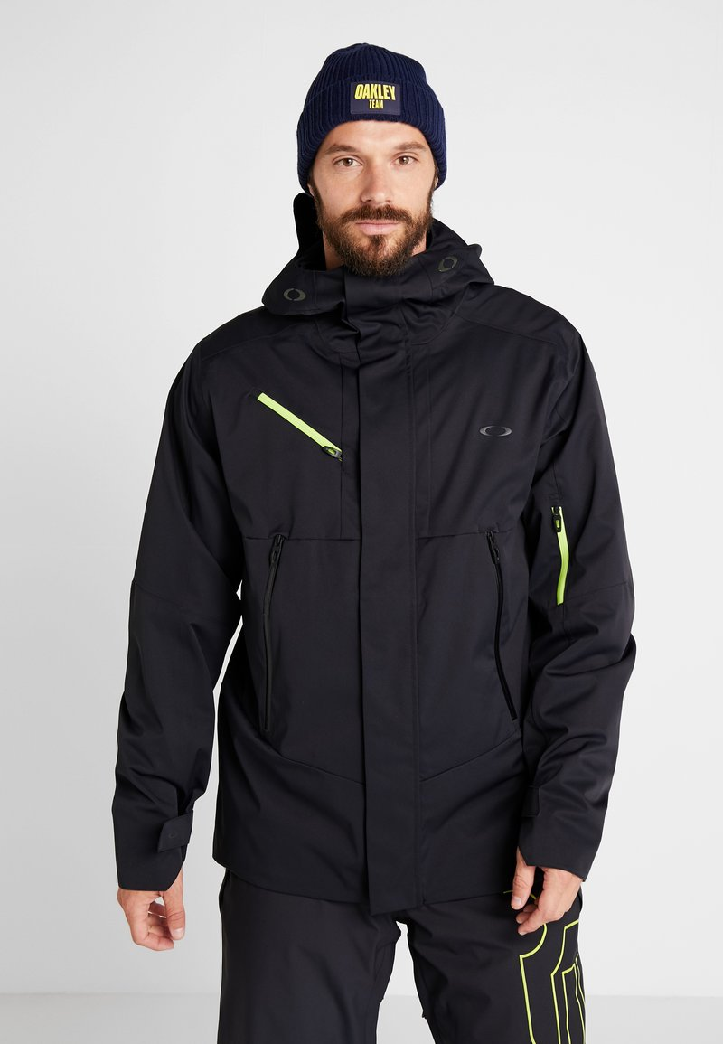 Oakley - CRESCENT JACKET - Snowboardjas - blackout