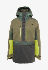 Oakley - REGULATOR INSULA - Snowboardjacka - dark brush - 6