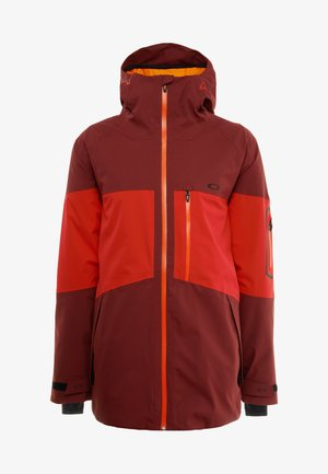 CEDAR RIDGE 10K - Veste de snowboard - oxblood red