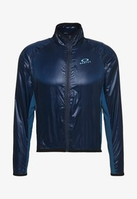Oakley - PACKABLE JACKET - Veste coupe-vent - dark blue - 0