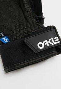 Oakley - FACTORY WINTER GLOVE  - Rękawiczki pięciopalcowe - blackout - 4