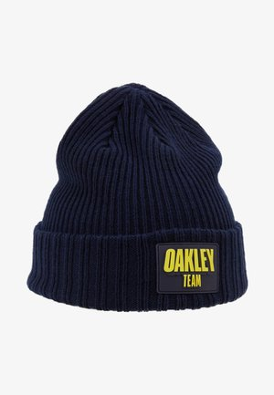 TEAM PATCH BEANIE - Bonnet - dark blue
