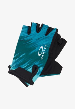 GLOVES - Fingerless gloves - teal