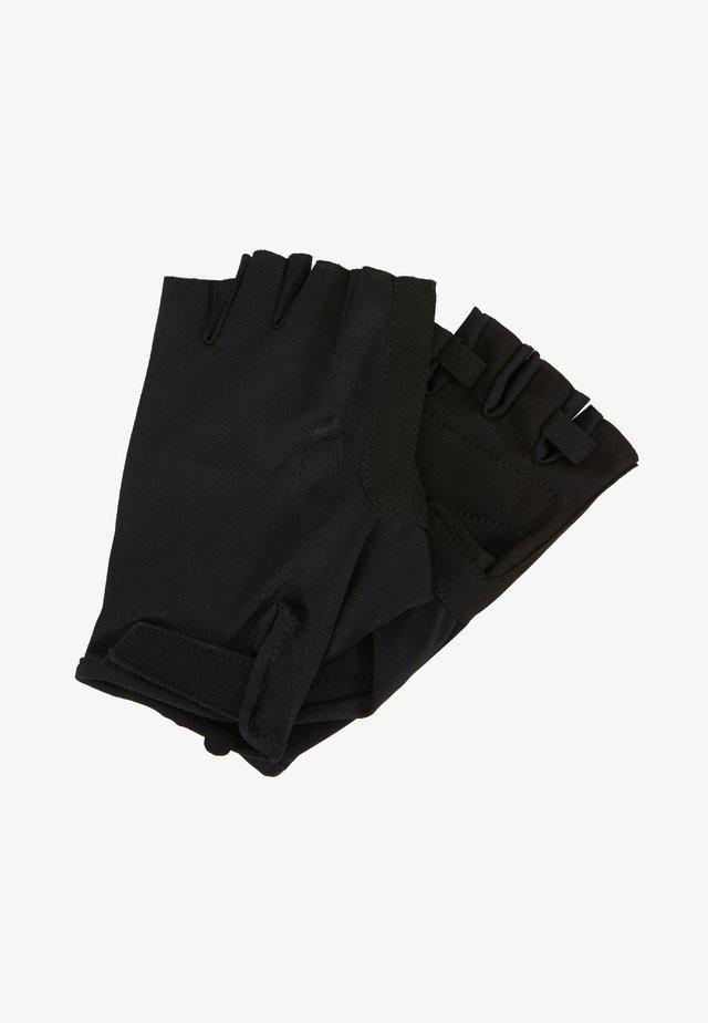 GLOVES - Kortfingerhandsker - black