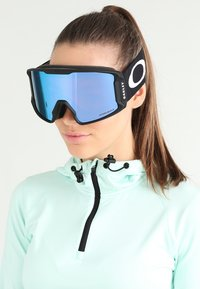 Oakley - LINE MINER - Ski goggles - black - 1