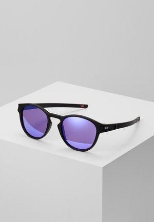 LATCH - Solbriller - latch matte black /prizm violet