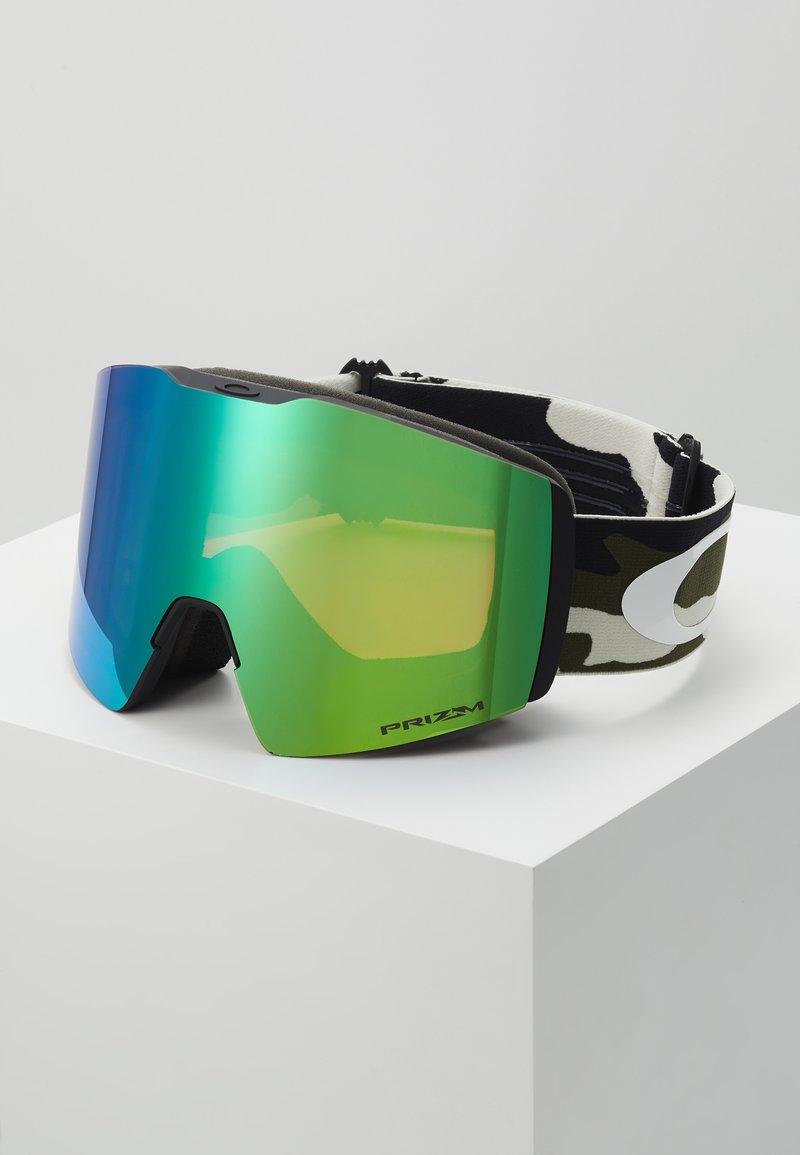 Oakley - FALL LINE XL - Gogle narciarskie - olive