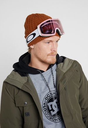 FALL LINE XM - Masque de ski - white/light pink