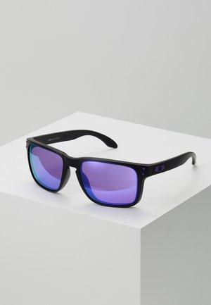 HOLBROOK - Zonnebril - matte black/violet