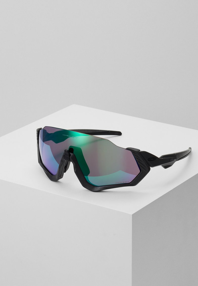 Oakley - FLIGHT JACKET - Sports glasses - steel/jade