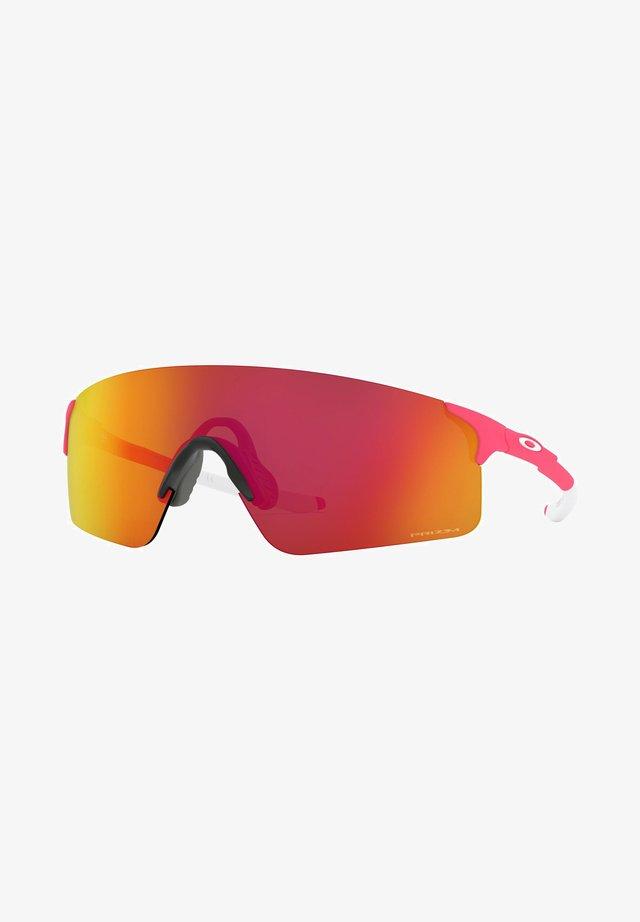 Sunglasses - matte neon pink/prizm ruby