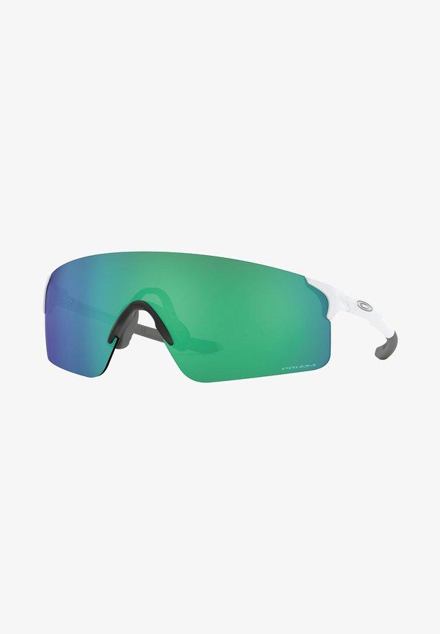 Sunglasses - matte white/prizm jade