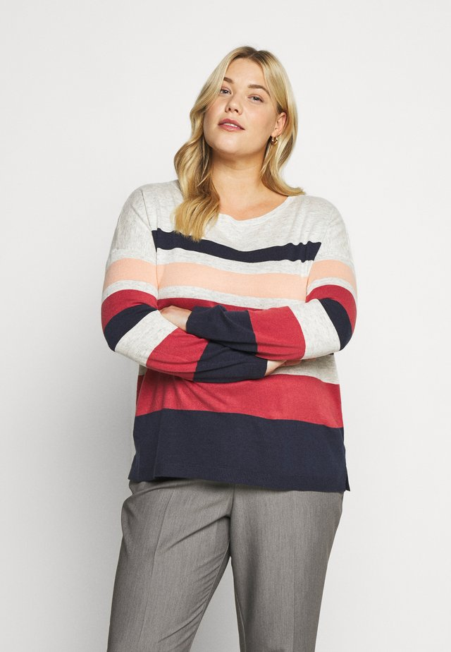 CLAIRE STRIPED JUMPER - Jumper - multi