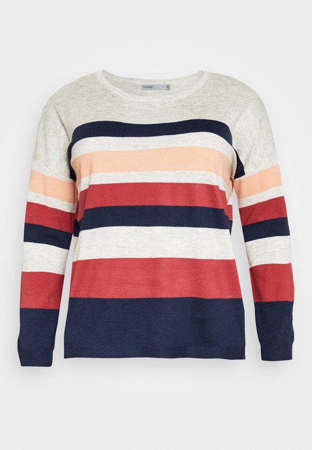 CLAIRE STRIPED JUMPER - Sweter - multi