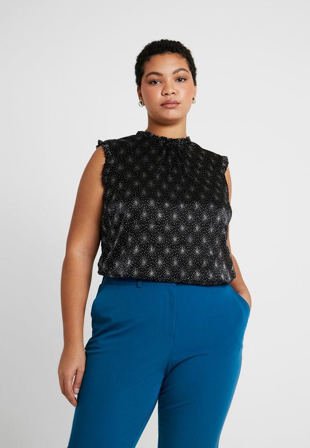 PRETTY PIECRUST - T-shirt z nadrukiem - black