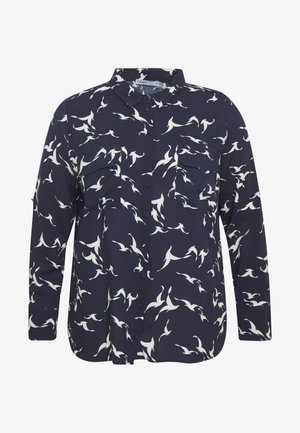 SHADOW BIRD HEART SHIRT - Blůza - multi blue