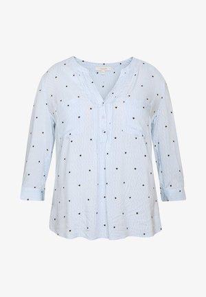 STRIPE STAR TIE SLEEVE - Blusa - multi blue