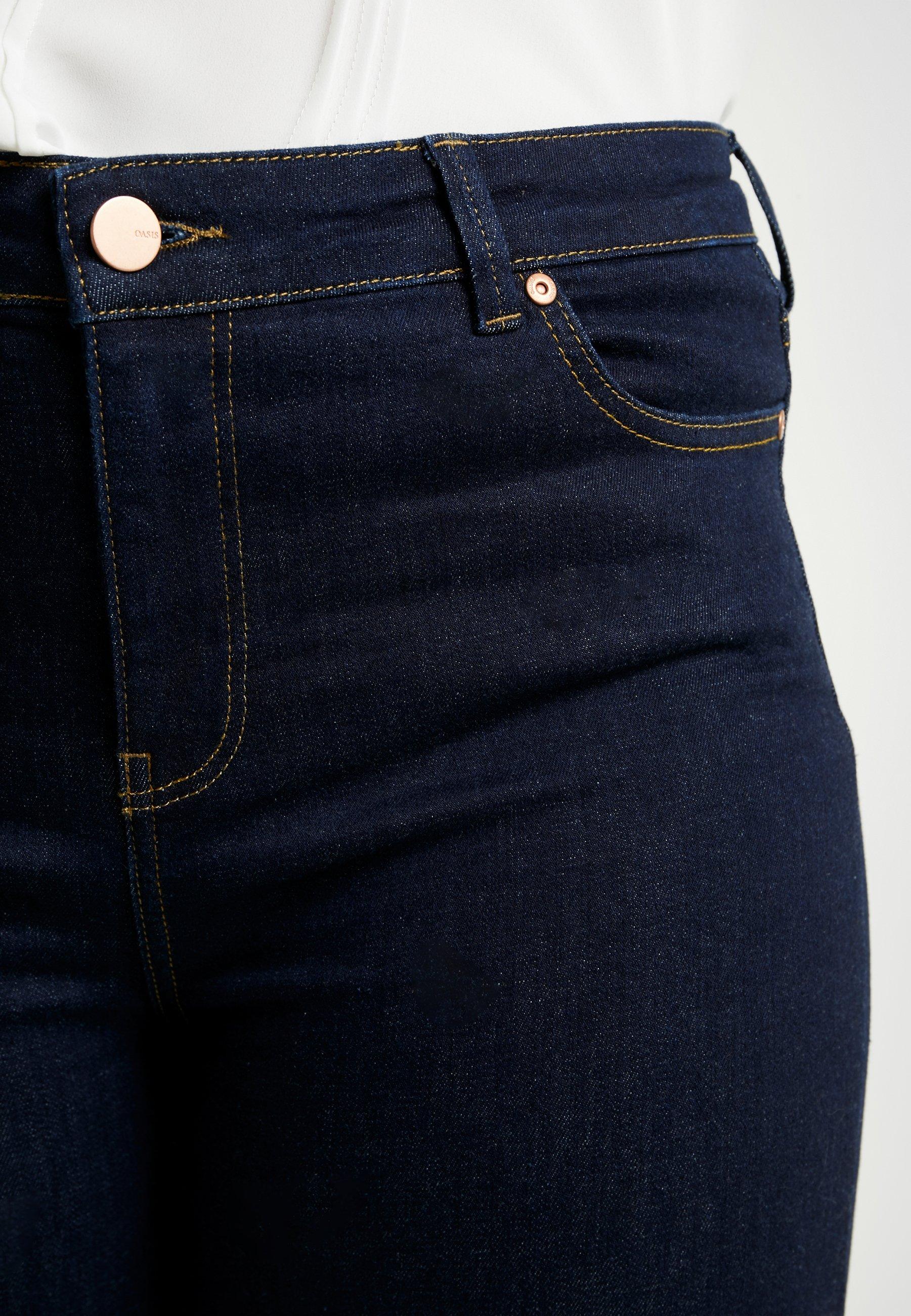 Oasis Curve RINSE WASH - Jeansy Slim Fit - dark wash
