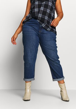 BOYFRIEND - Jeans baggy - dark wash