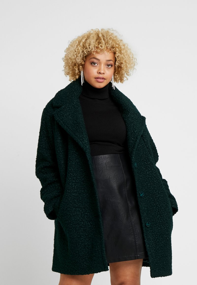 Oasis Curve - COAT - Winter coat - deep green