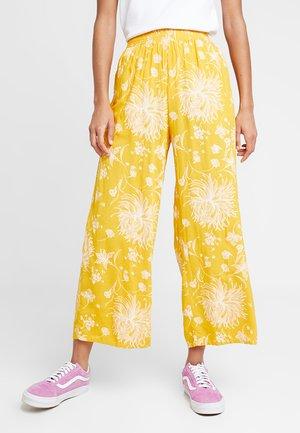 ANNETTE PANT - Trousers - mustard multi