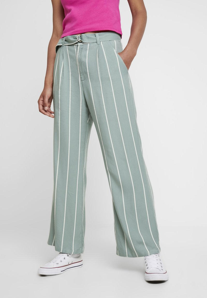 Obey Clothing - AMALFI PANT - Trousers - pistachio multi