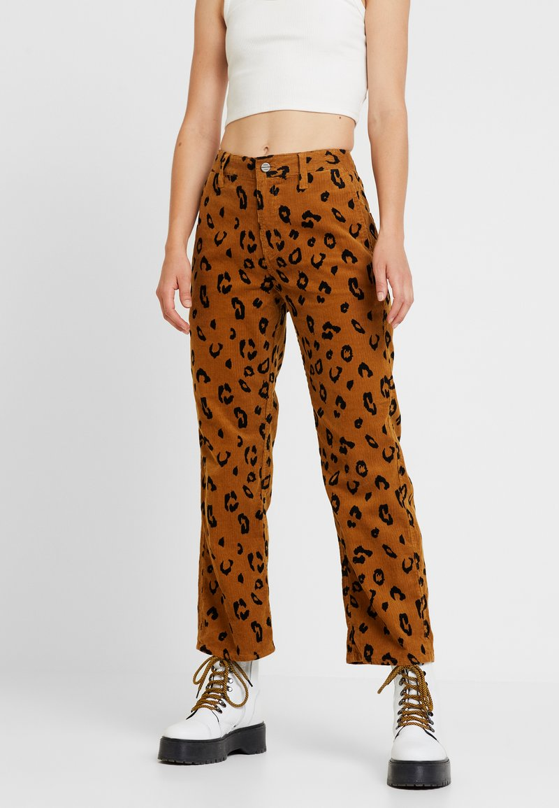 Obey Clothing - ABBOTT PAINTER PANT - Stoffhose - light brown