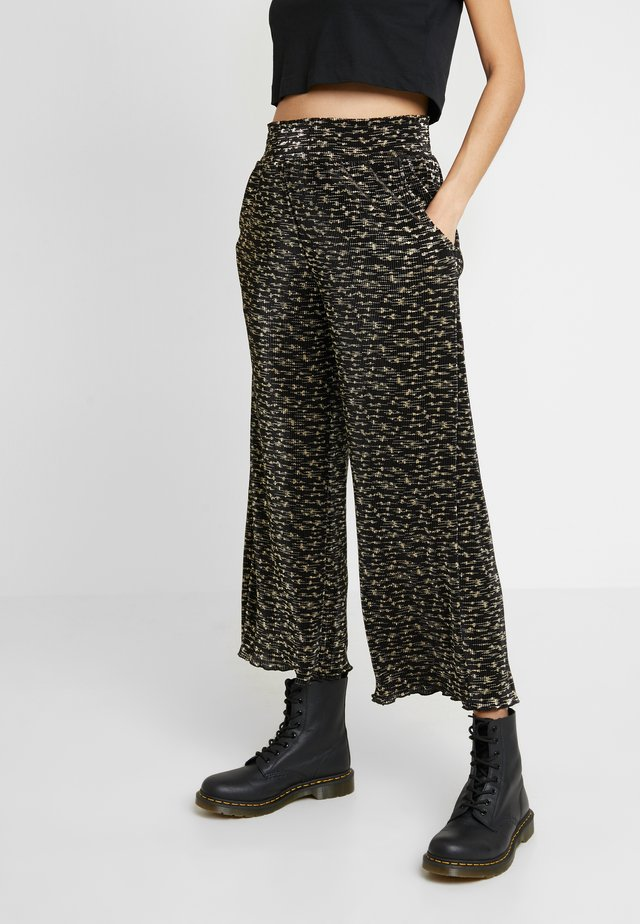 ORION PANT - Pantalones - black multi