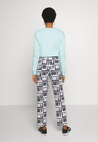 Obey Clothing - SPLASH PANT - Kalhoty - black/white - 2