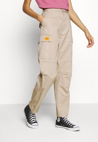 Obey Clothing - COMBAT - Trousers - beige - 0
